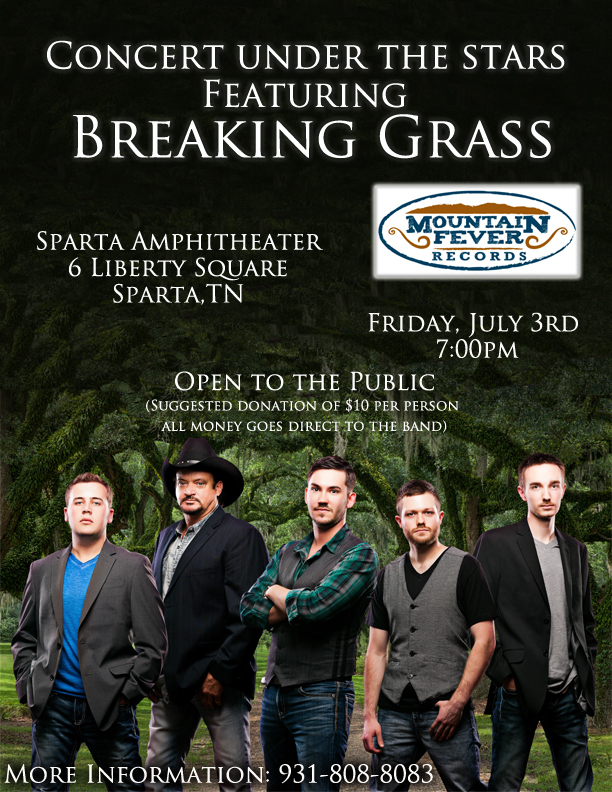 Sparta Show flyer 2