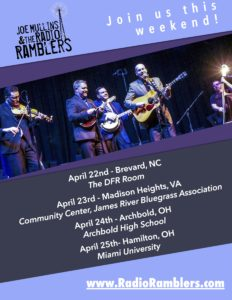 Joe Mullins & The Radio Ramblers – This Week!