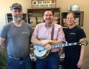Joe Mullins & The Radio Ramblers Ink Sponsorship Agreement with Rue Farms Rustic Potato Chips™