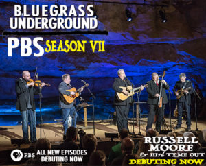 Russell Moore & IIIrd Tyme Out Debut on PBS – Bluegrass Underground This Week!