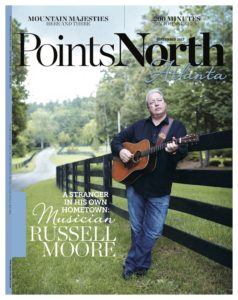 Russell Moore On Cover of Points North Atlanta Magazine
