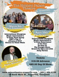 East Public Relations Announces Crossville Concerts