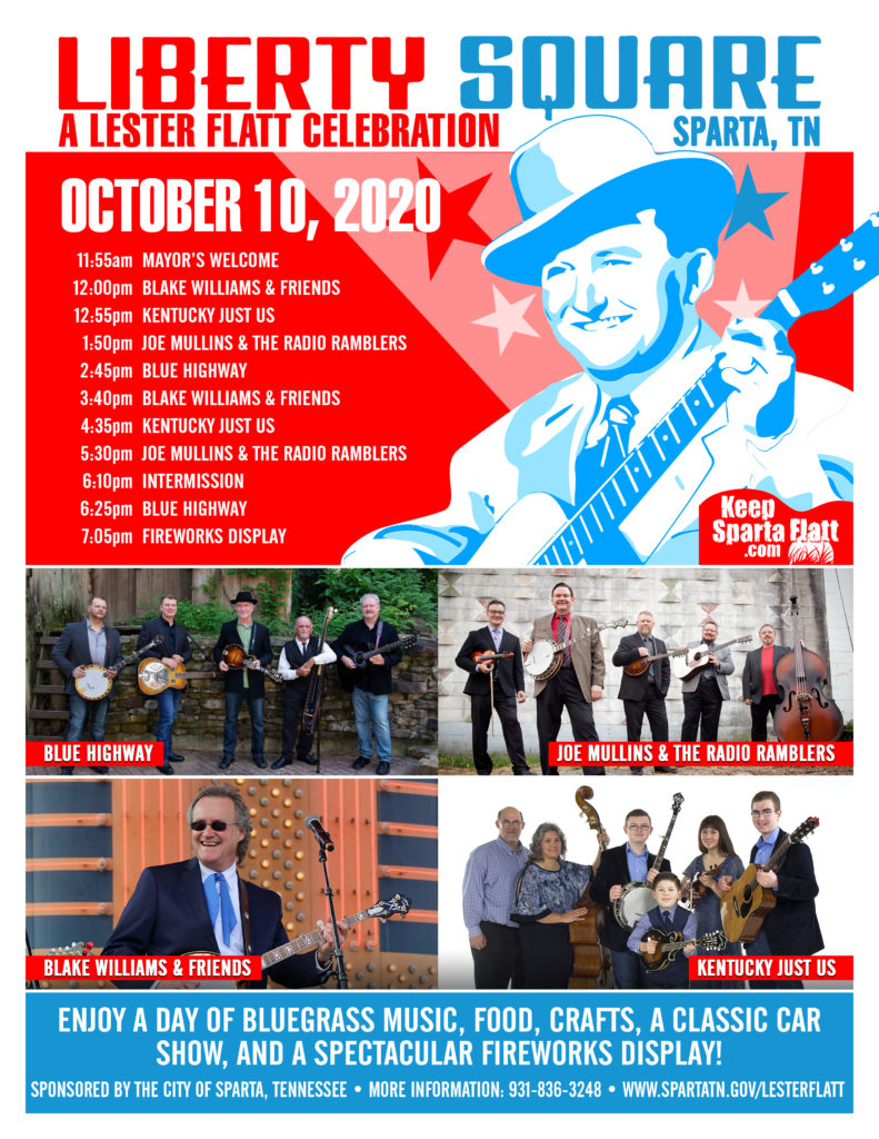 Liberty Square: A Lester Flatt Celebration Lineup Announced!