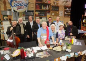Joe Mullins & The Radio Ramblers Featured on Larry's Country Diner